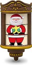 "Hallmark Keepsake Mini Christmas Ornament 2018 Year Dated, Stylin' Santa Miniature with Motion, 1.87"""