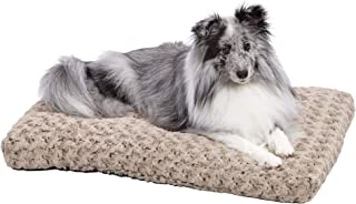 Midwest Ombre Mocha Swirl Fur Pet Bed, Brown, 30 Inches