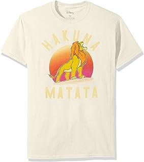 Disney Camiseta para hombre Lion King Simba Pride Hakuna Matata Warrior Graphic