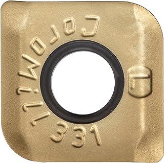 0.244 Thk 0.472 Inscribed Circle GC1025 Grade Pack of 1 PVD Coated Sandvik Coromant Milling Insert