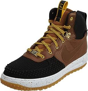 Boys Lunar Force 1 Duckboot Fashion Sneakers Black 6 Medium (D) Big Kid