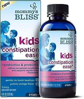 Mommy's Bliss Kids Constipation Ease With Prebiotics & Probiotics, 4 Fl Oz