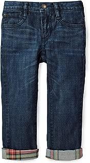 Hope & Henry Boys' Lined Denim Jeans