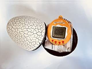 SAFSOU Electronic Pet Virtual Pet Digital Pets Electronic Digital Pet Game Tumbler Dinosaur Egg Packing (White)