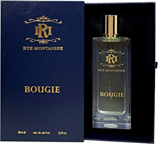 Rue Montaigne Bougie Eau de Perfume For Unisex, 80 ml