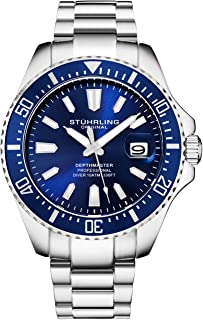 Stuhrling Original Mens Dive Watch - Pro Sport Diver with...