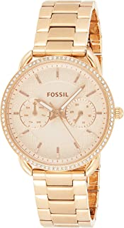 Women's Tailor Quartz Watch with Stainless-Steel Strap, Rose Gold, 16 (Model: ES4264)