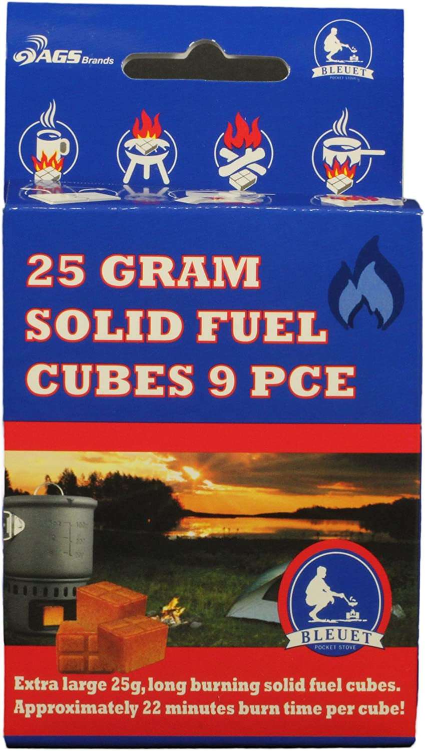 Bleuet Brand Solid Clearance New York Mall SALE Limited time 25gm Cubes Fuel