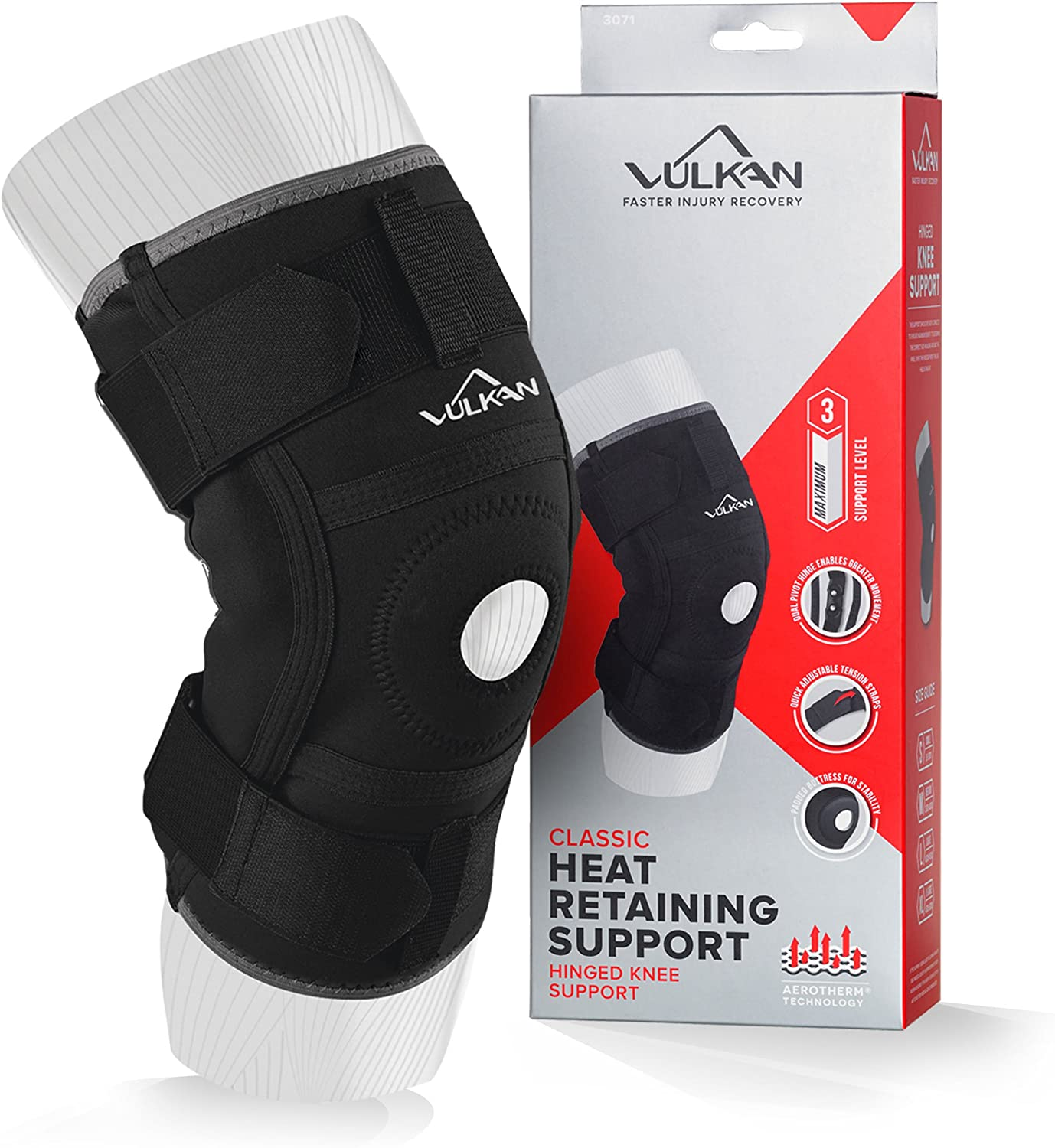 Vulkan Classic Hinged Knee Support  SS19