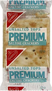 Premium Saltine Unsalted Crackers, 0.200 Ounce (Pack of 500)