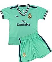Kit Camiseta y Pantalón Infantil Tercera Equipación - Real Madrid - Réplica Autorizada