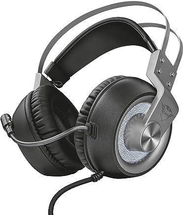 Trust GXT 4376 Ruptor Cuffie Gaming Over-Ear con Unità Altoparlanti e Suono Surround 7.1, Grigio - Trova i prezzi più bassi