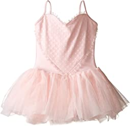 Heart Mesh Camisole Tutu Dress (Toddler/Little Kids/Big Kids)