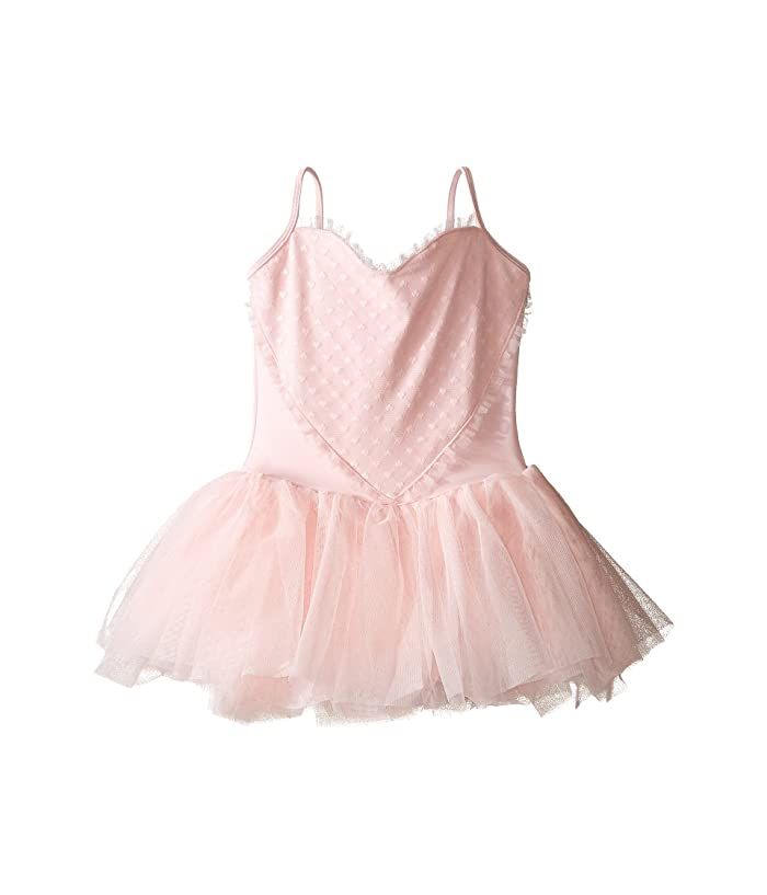 Bloch Kids Heart Mesh Camisole Tutu Dress Toddler Little Kids Big Kids