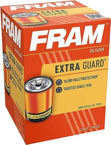FRAM Extra Guard PH3506, 10K Mile Change Interval Spin-On Oil Filter
