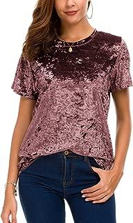 Best velvet shirts womens Reviews