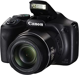 Canon Cameras 1067C001 PowerShot SX540 HS with 50x Optical Zoom and Built-In Wi-Fi, Black