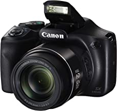 Canon PowerShot SX540 Digital Camera w/ 50x Optical Zoom - Wi-Fi & NFC Enabled (Black), 1 - 1067C001