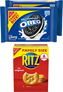 Sponsored Ad - OREO Cookies & RITZ Crackers Variety Pack, Family Size, 3 Packs