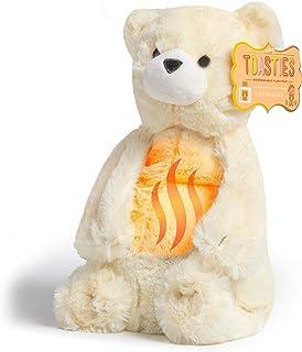 FAO Schwarz 12 Inch Warm Paws Plush Teddy Polar Bear, Microwave Warm-Up Stuffed Animal for Sleepytime with Lavender Aromat...