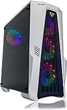 Gaming PC Desktop Computer White by Alarco Intel i5...
