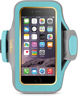 Belkin Slim-Fit Plus Armband for iPhone 6 / 6s, Fitbit Alta, Fitbit Blaze and Fitbit Charge HR (Turquoise)