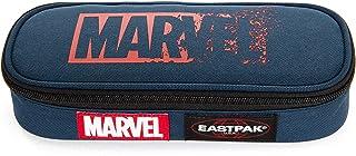 Eastpak x Marvel Oval Single Trousse, 22 cm, Bleu (Marvel Glitch)