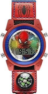 Spiderman Mixte Enfant Digital Montre avec Bracelet en Tissu SPD4586