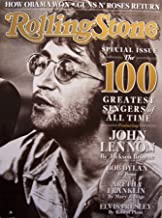 Rolling Stone Issue 1066 [John Lennon cover] November 27, 2008 (Special Issue: The 100 Greatest Singers of All Time, John Lennon, Bob Dylan, Aretha Franklin, Elvis Presley, etc.)