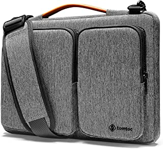 tomtoc 360 Protective Laptop Shoulder Bag for 16-inch New MacBook Pro, 15 Inch Microsoft Surface Book 3/2, 15 Inch Old Mac...