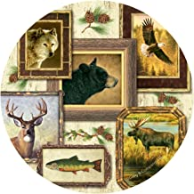Thirstystone Stoneware Coaster Set, Wildlife