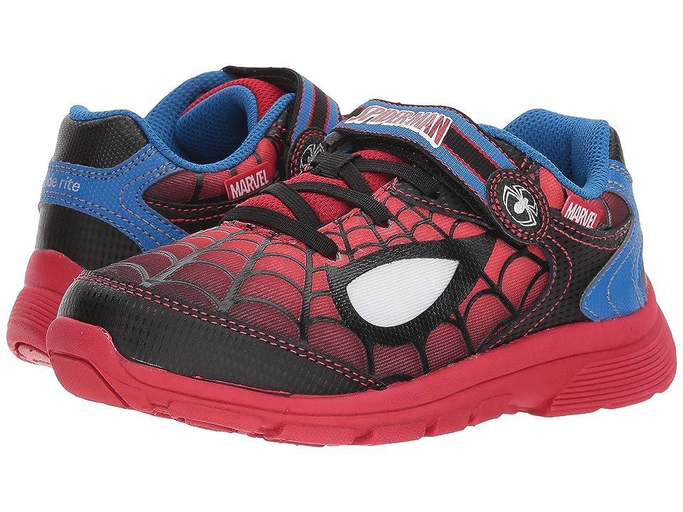 Stride Rite Spider-Man Spidey Eyes (Toddler/Little Kid) (Red/Black) Boys Shoes