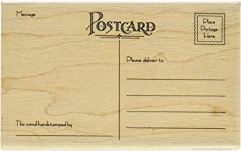 Penny Black 1369L Postcard Mounted Rubber Stamp, 5.5