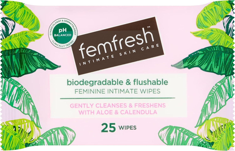 Femfresh pH-balanced Freshness Wipes Regular discount W Oakland Mall Long Lasting 25