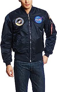 MA-1 NASA Bomber Flight Jacket - Fighter Pilot Flight Jacket
