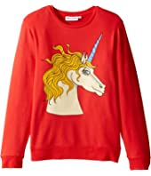 mini rodini - Unicorn Sweatshirt (Infant/Toddler/Little Kids/Big Kids)