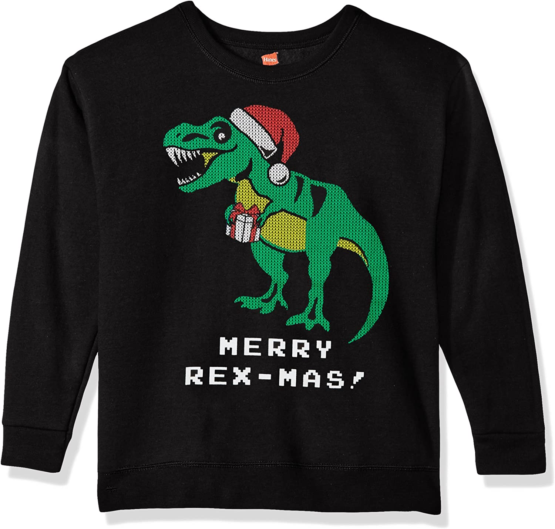 Hanes Boys' Ugly Christmas Sweatshirt