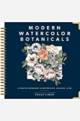 Modern Watercolor Botanicals Kindle Edition