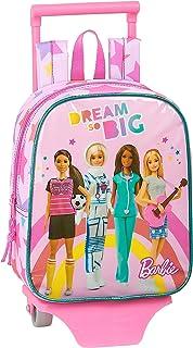612010280 Mochila guardería ruedas, carro, trolley Barbie