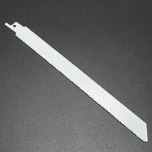 LMIAOM Hoja de sierra recíproca bimetálica de 225 mm Accesorios de hardware Herramientas de bricolaje