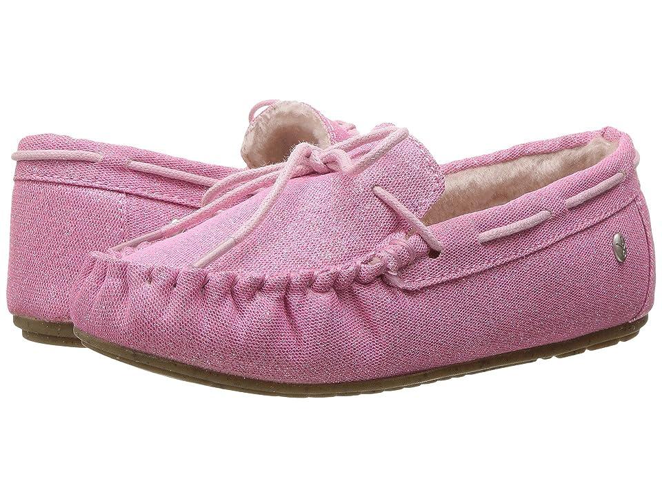EMU Australia Kids Amity Sparkle (Toddler/Little Kid/Big Kid) (Pale Pink) Girls Shoes