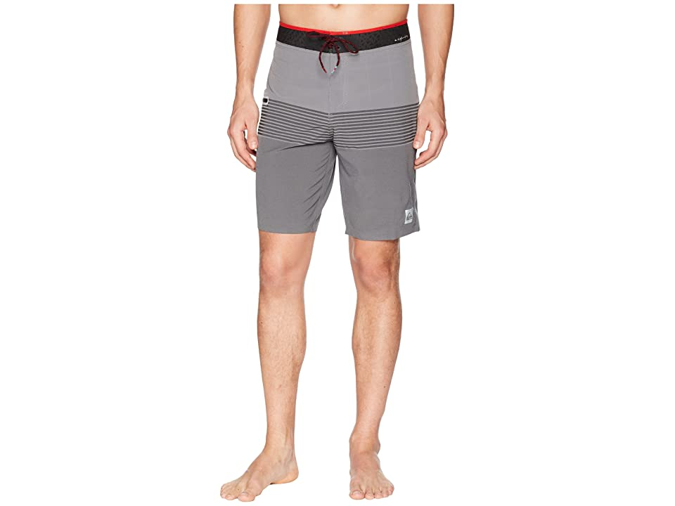 Quiksilver Highline Division Blend 20 Boardshorts (Iron Gate) Men