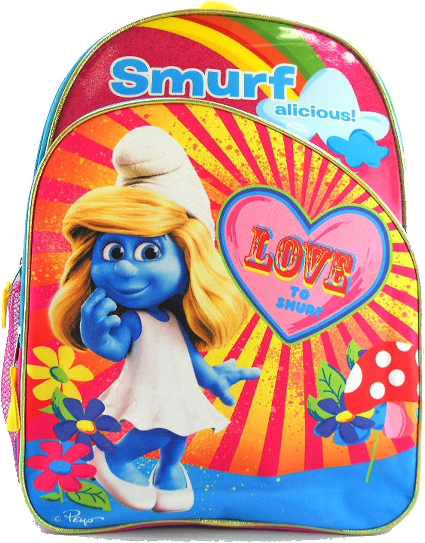 Smurfette Girls School Backpack [Toy]