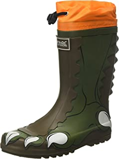 Regatta Mudplay Welly Waterproof Boot, Botas de Agua Unisex