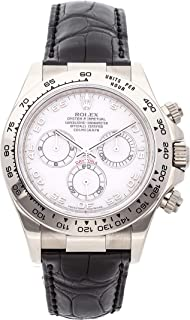Rolex Daytona Mechanical (Automatic) Mother-of-Pearl Dial Womens Watch 116519 (Certified Pre-Owned)
