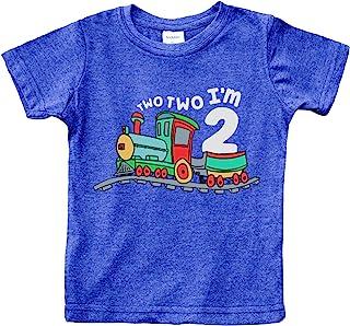 2nd Birthday Shirt boy Chugga Chugga Two Two Train im Two Year Old Second Birthday