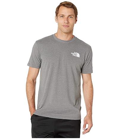 The North Face Short Sleeve Red Box T-Shirt (TNF Medium Grey Heather/TNF Red) Men