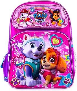 Paw Patrol Girls Backpack Pink School Bag Travel fun PUP POWER Girls