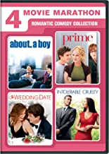 4 Movie Marathon - Romantic Comedy Collection: (About a Boy / Intolerable Cruelty / The Wedding Date / Prime)