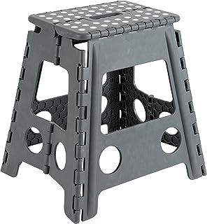 comprar comparacion Arregui TB-039-G Taburete Plegable de 39 cm de altura, gris, 390x290x220